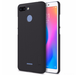 Накладка для Redmi 6 Nillkin Super Frosted черный