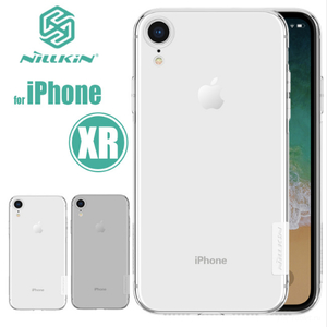 Накладка для iPhone XR Nillkin TPU белый