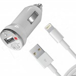АЗУ USB + Data кабель для iPhone 5 \ iPad mini \ iPad 4 на 1А