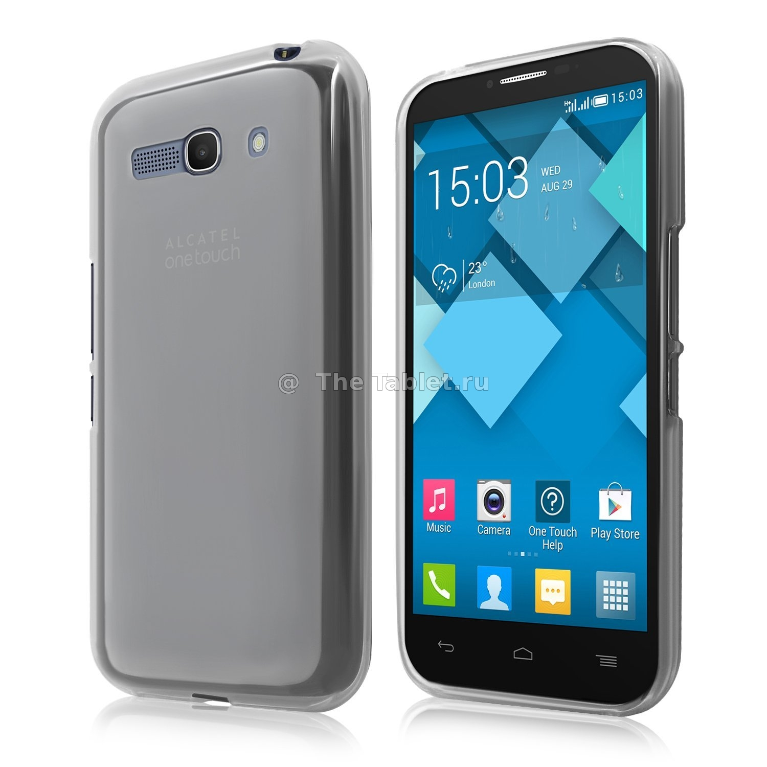 ����������� ����� ��� Alcatel Pop C9/7047D - TPU Case