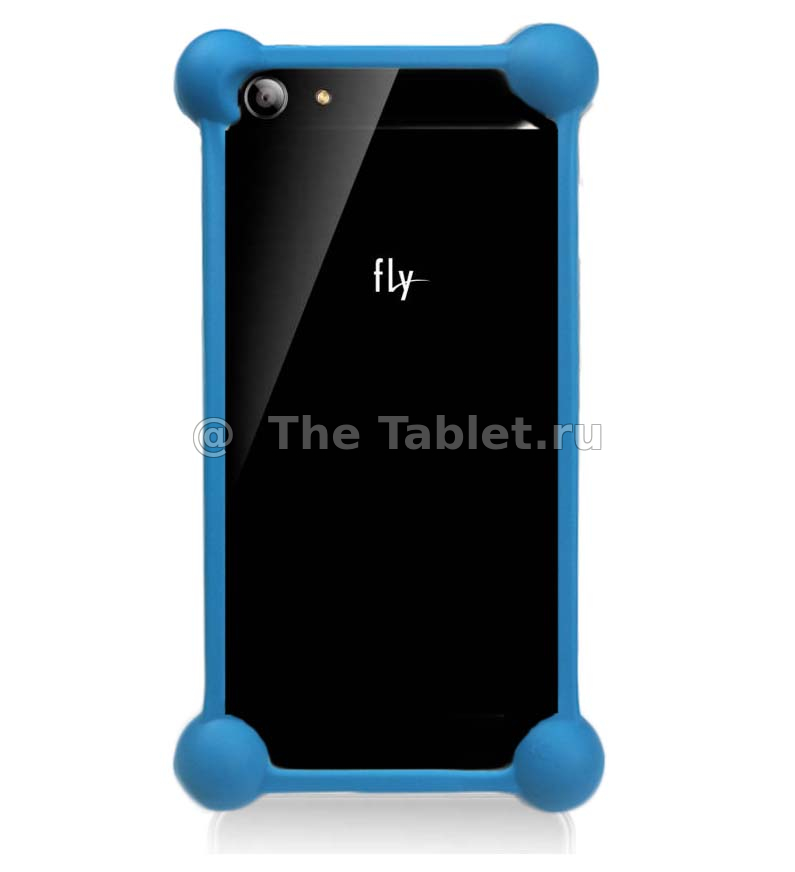 Чехол Fly FS502 Cirrus 1 Activ Flip Leather Blue 52685