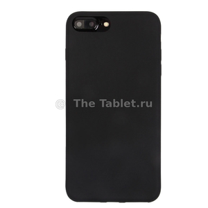 Чехол ТПУ для iPhone 7 Plus, 009486 Черный
