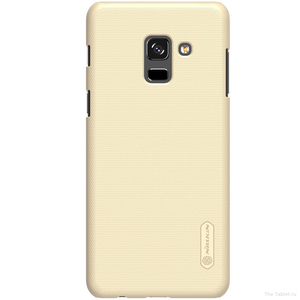 Накладка для Samsung Galaxy A5 (2018)/A8 (2018) Nillkin Super Frosted золотистый