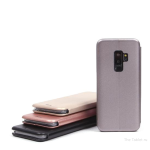 Чехол-книжка для Samsung Galaxy S9 Plus, 009805 Золотой